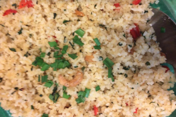 FRIED RICE WITH DRIED SHRIMPS